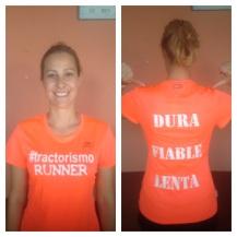 Camiseta Naranja Fluor Chica 16€