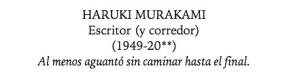 EPITAFIO MURAKAMI