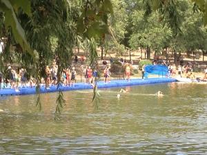 Lago Casa de Campo. Sector de natacion