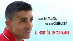Nacbo Caceres, Al Maratón con Serrano