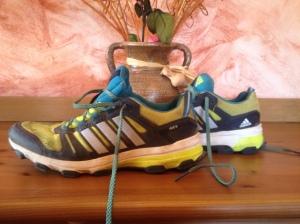 Con estas zapatillas Luis Alberto Hernando ha ganado numerosas carreras. Por algo será...;)